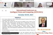 International Conference on Intelligent Vision and Computing (ICIVC 2021)